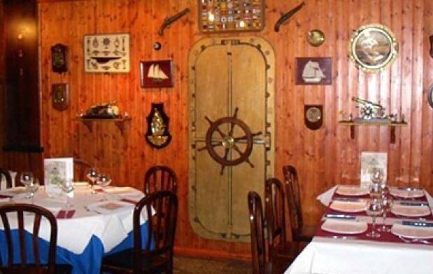 Menú con bogavante y bebida. A Coruña