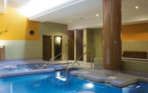 Circuito de agua spa, relax y bienestar
