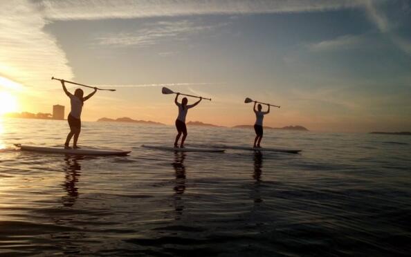 Curso de iniciación al Paddle Surf para 2 o 4 personas. Playa Samil