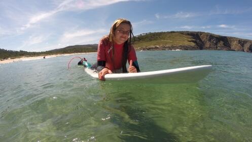 Bautismo surf de 2 horas