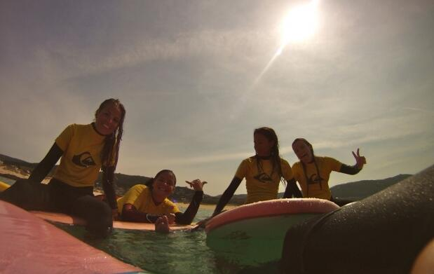 Surf Camp Roxy Chicas