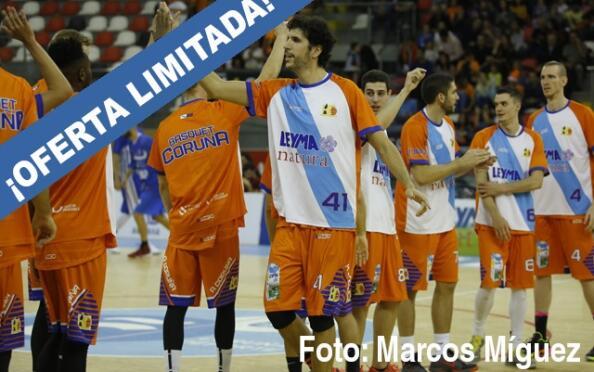 Abono partido Leyma Coruña - Melilla Baloncesto