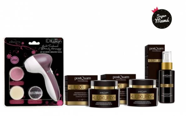 Pack Luxury Gold + cepillo facial