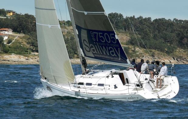 Paseo de 4 h en velero por la Ría de Vigo