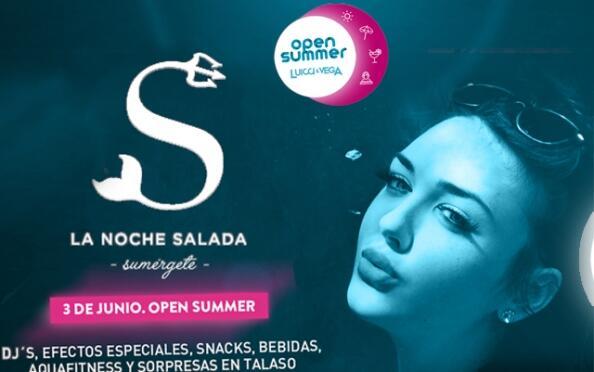 Entradas Termaria Open Summer Noche Salada, 3 de junio ¡Oferta limitada!