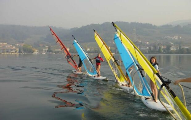 Curso de iniciación al windsurf