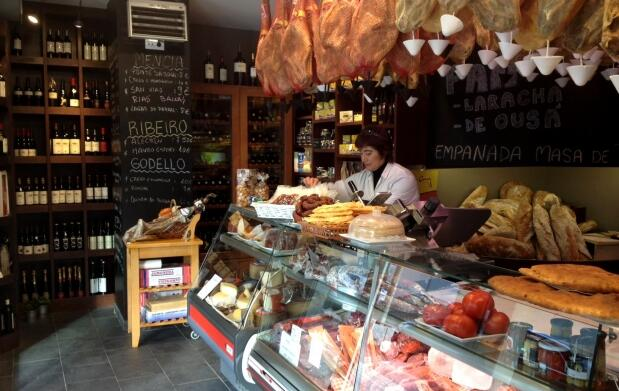 Jamón de Teruel, chorizo, queso y Mencía