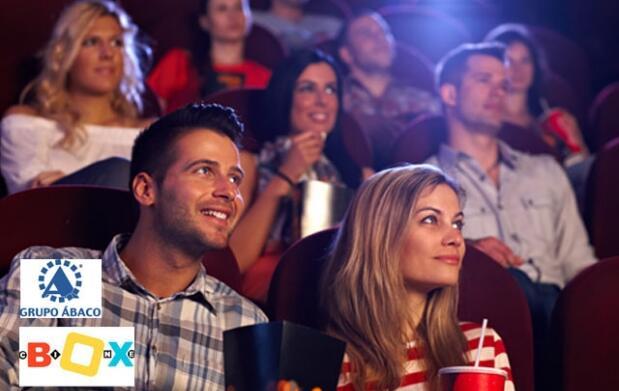 Cine, palomitas+bebida en Cinebox Ourense
