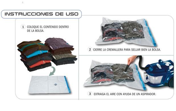 6 bolsas guardarropas¡Ahorra espacio!