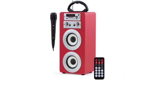Altavoz con karaoke Sound Box