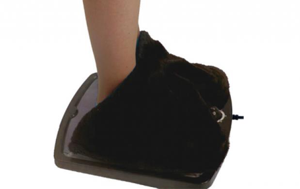 Calentador de pies eléctrico