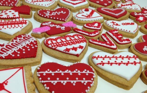 Caja de 8 galletas para San Valentín