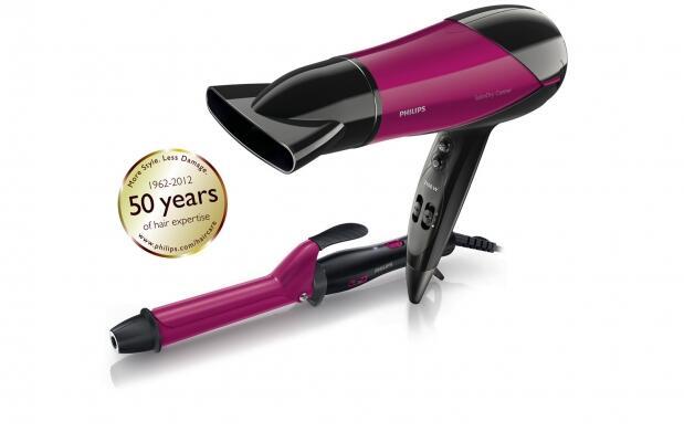 Secador de pelo Philips y moldeador