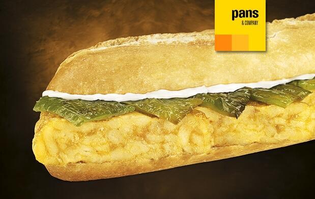 Completo menú en Pans & Company