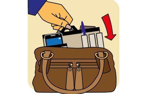 Organizador de bolsos