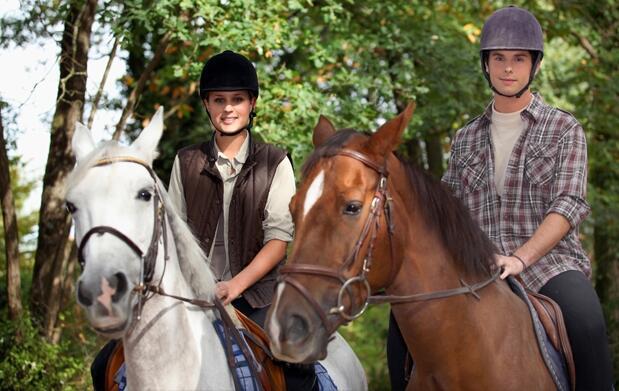¡Disfruta de una ruta a caballo!