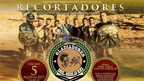 Entrada espectáculo cómico-taurino: Gladiadores del Siglo XXI